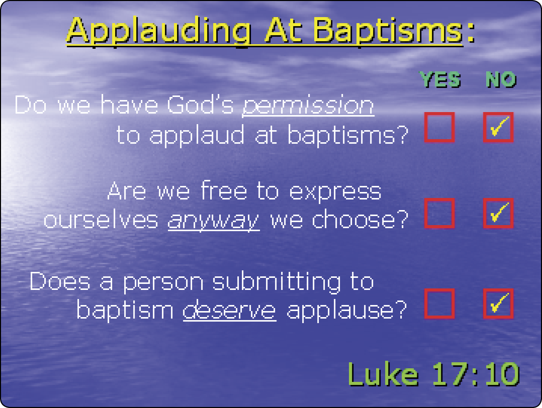 Apologetics Press - Handclapping in Worship to God