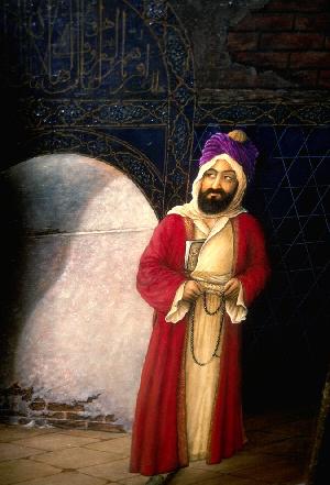 Artist's conception of Muhammad